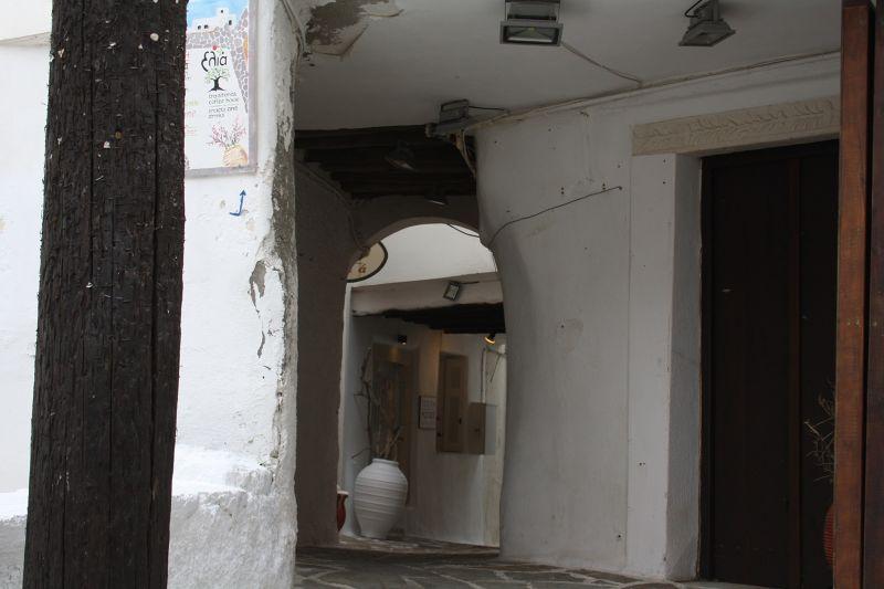 Walk in Naxos Narrow Alleys
