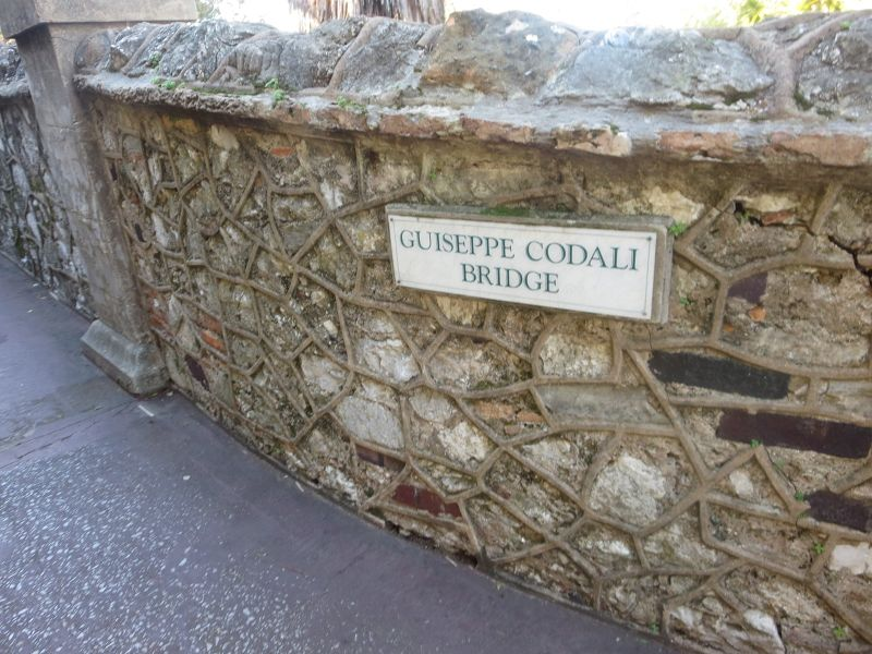 Giuseppe Codali --The Head Gardener