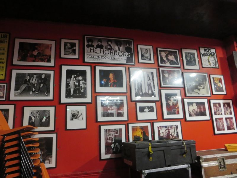 Great music legends wall photos