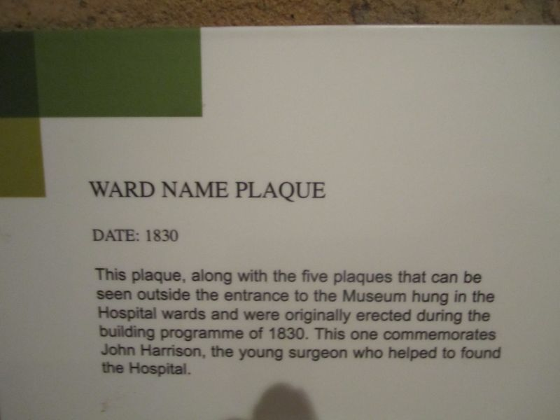 Name ward  plaques