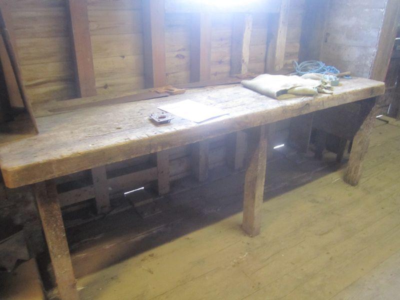 An original working bench