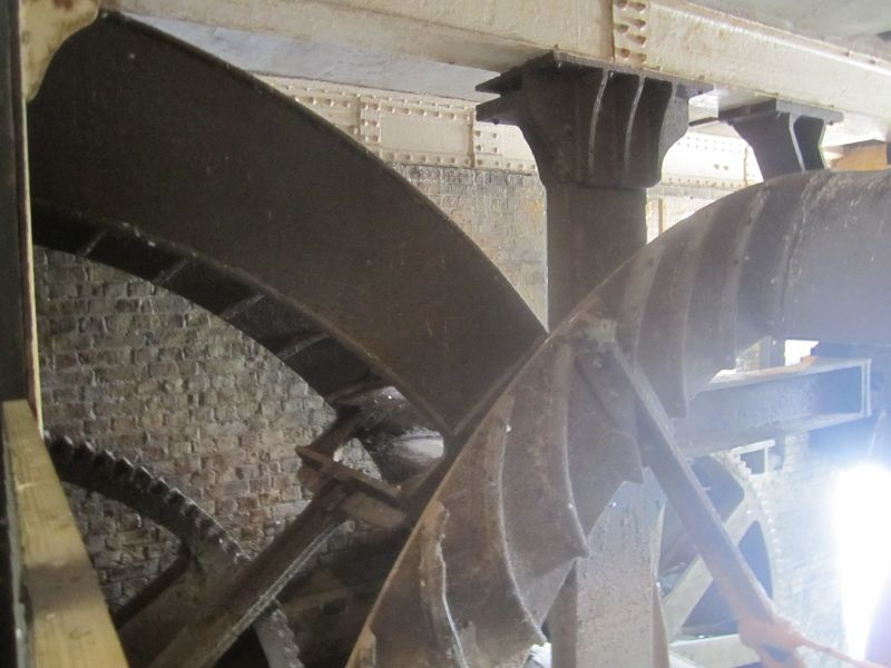 The water wheels
