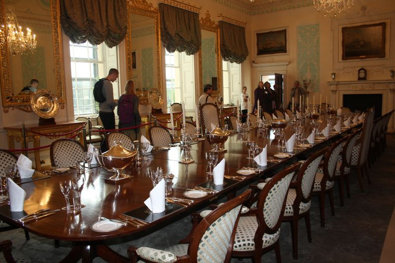 18th century dining room