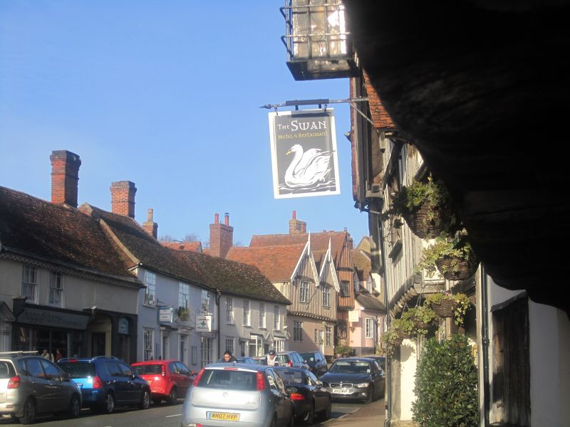 Walking around the Historic Village of Lavenham