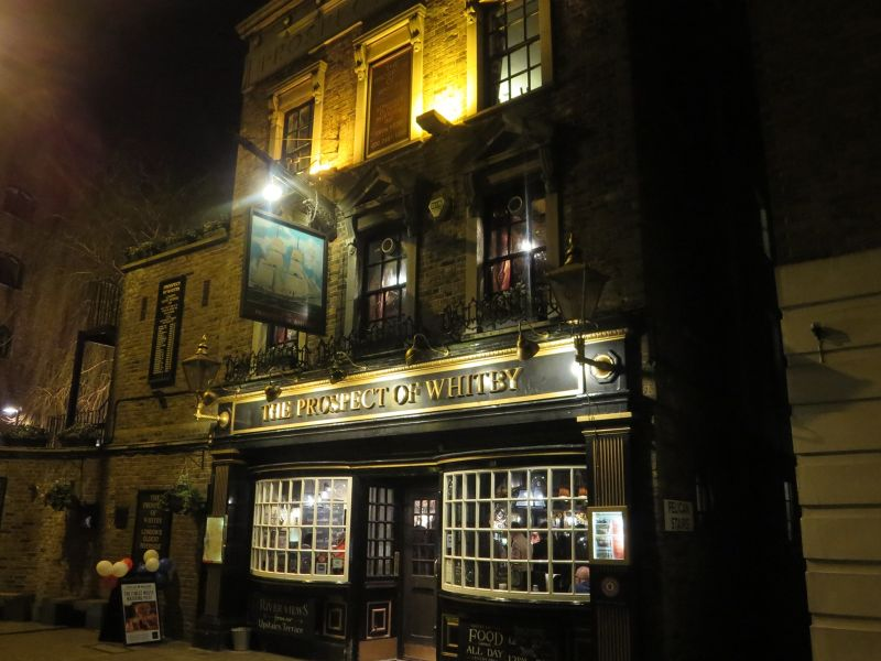 Prospect of Whitby--The Oldest Riverside Pub - London