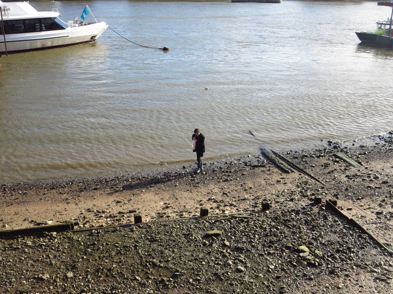 Mudlarking on the Thames