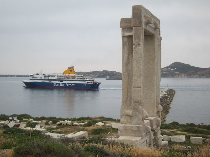 The Marble Gate of Portara