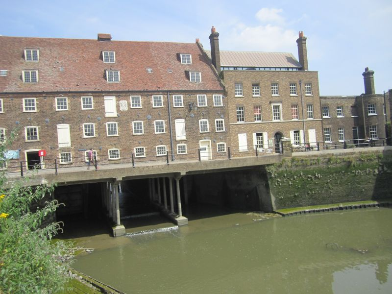 Three Mills entrance/ visitors centre and cafe