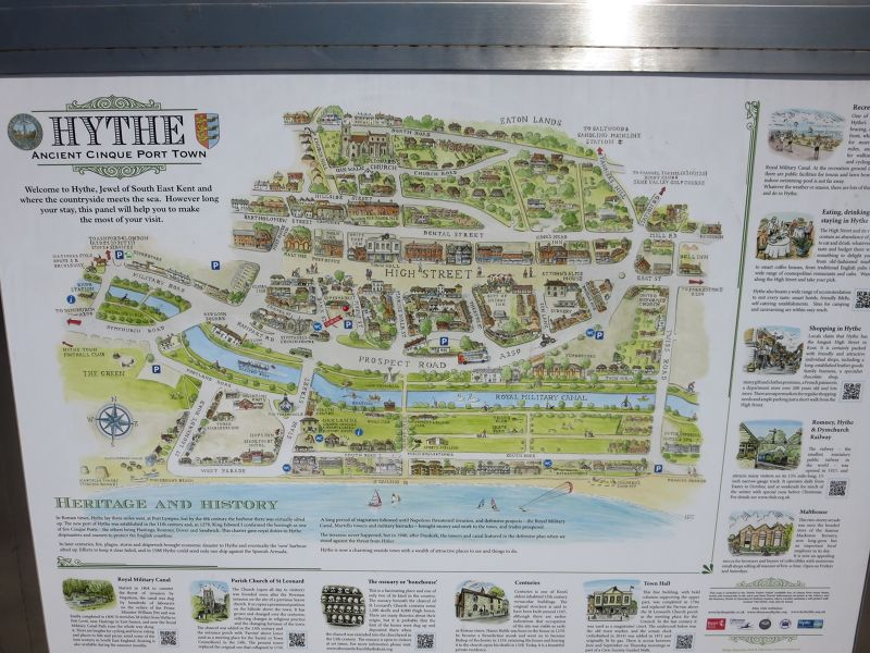 Hythe Military Map
