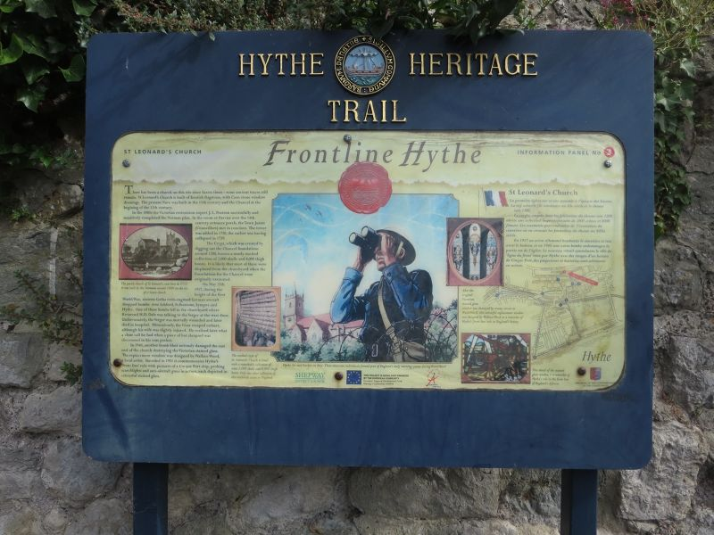 Hythe Heritage Trail Boards