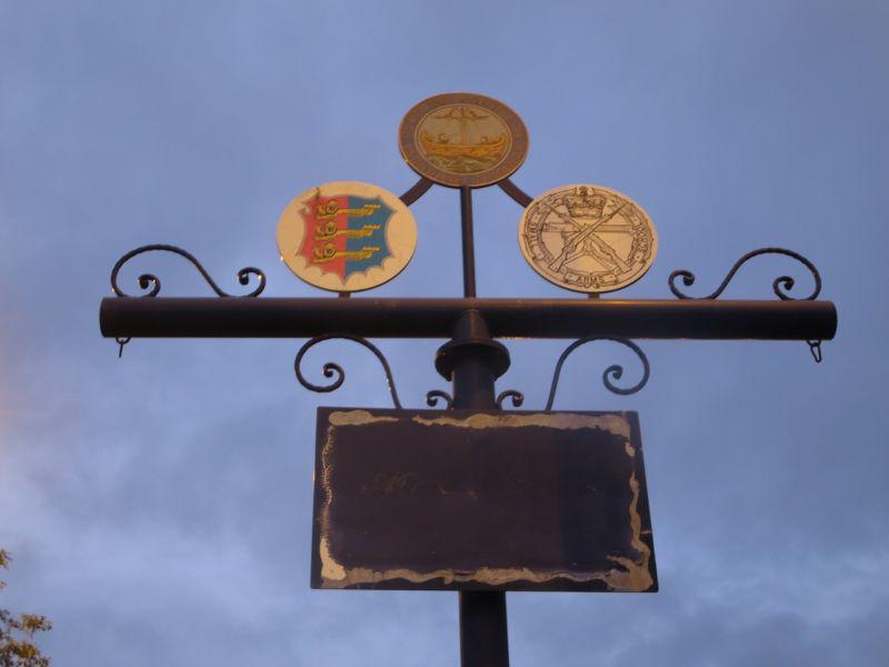 Cinque Port Sign