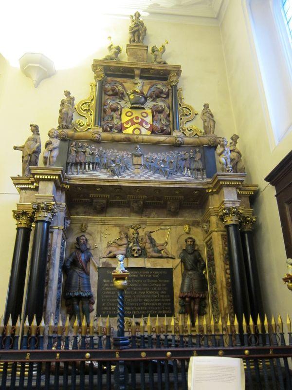 Thomas Sutton Tomb