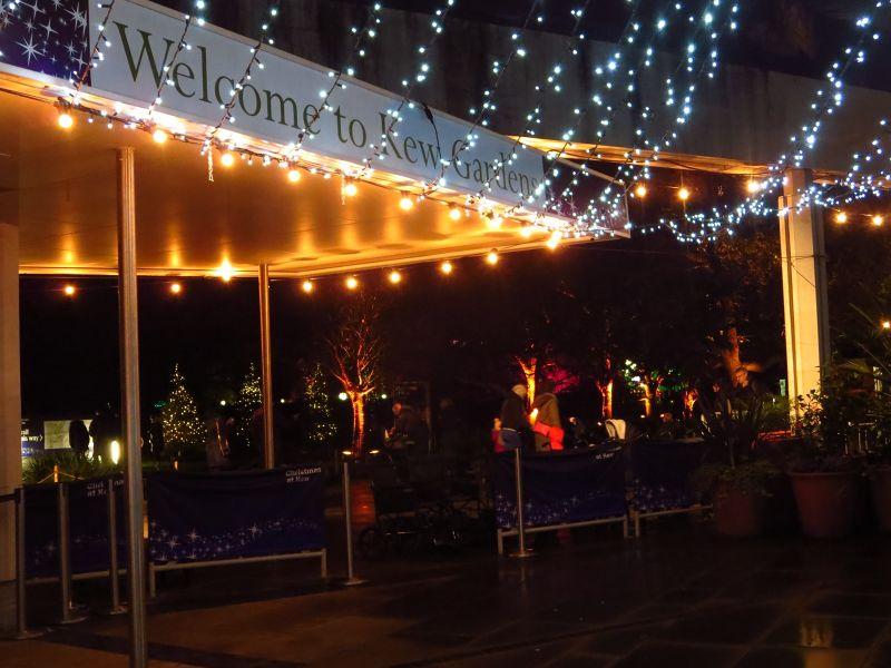 Christmas at Kew Gardens