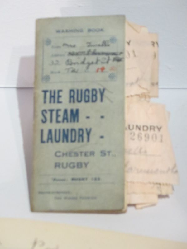 Exhibits in Rugby Museum