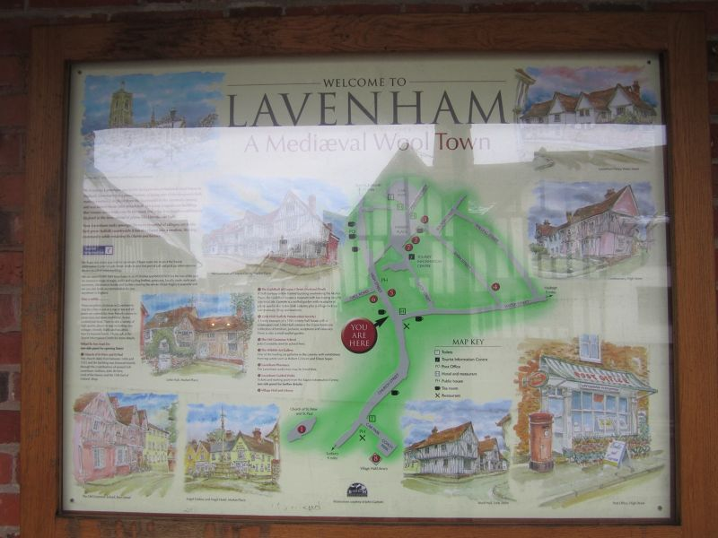 Lavenham Map