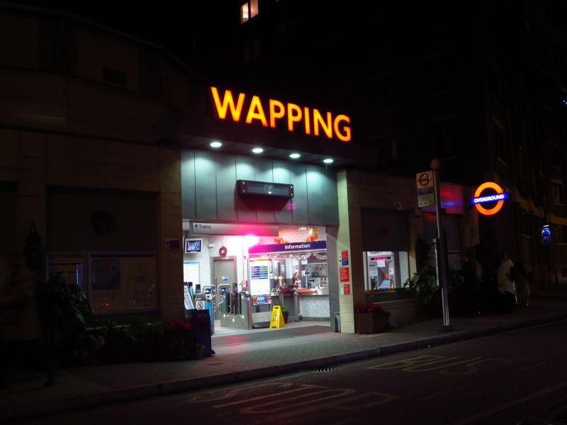 Wapping Overground Station