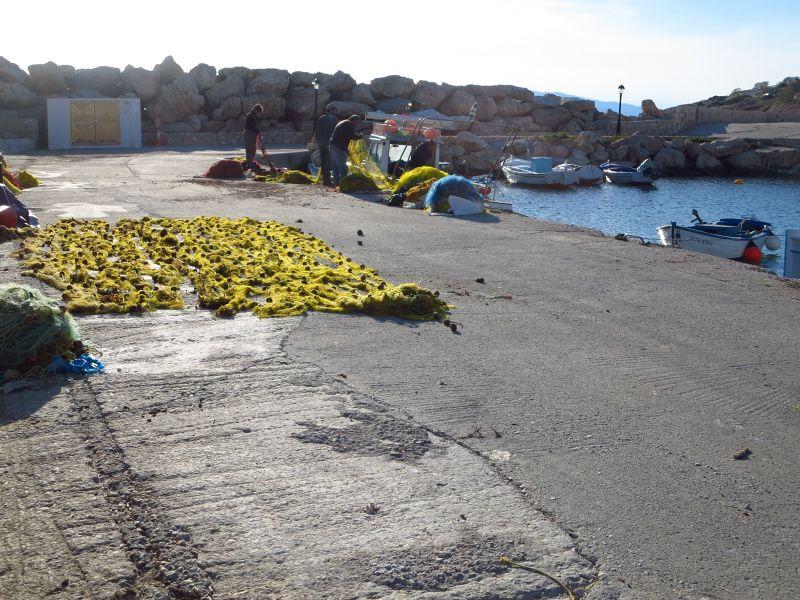 Donoussa's Marina and Fishing Bay