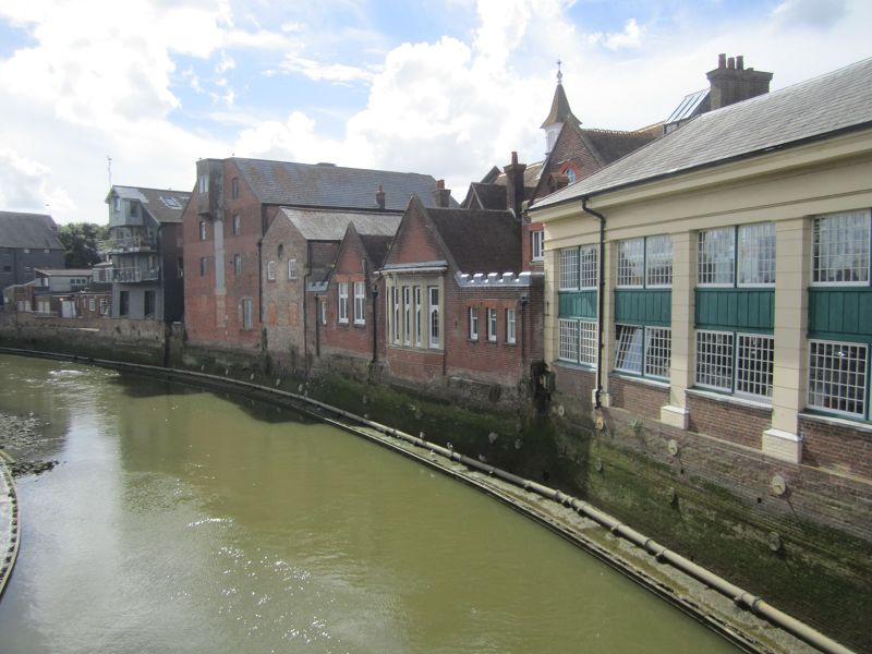 Former Warehouse on river Ouse