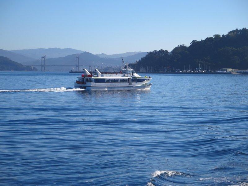Leaving Vigo