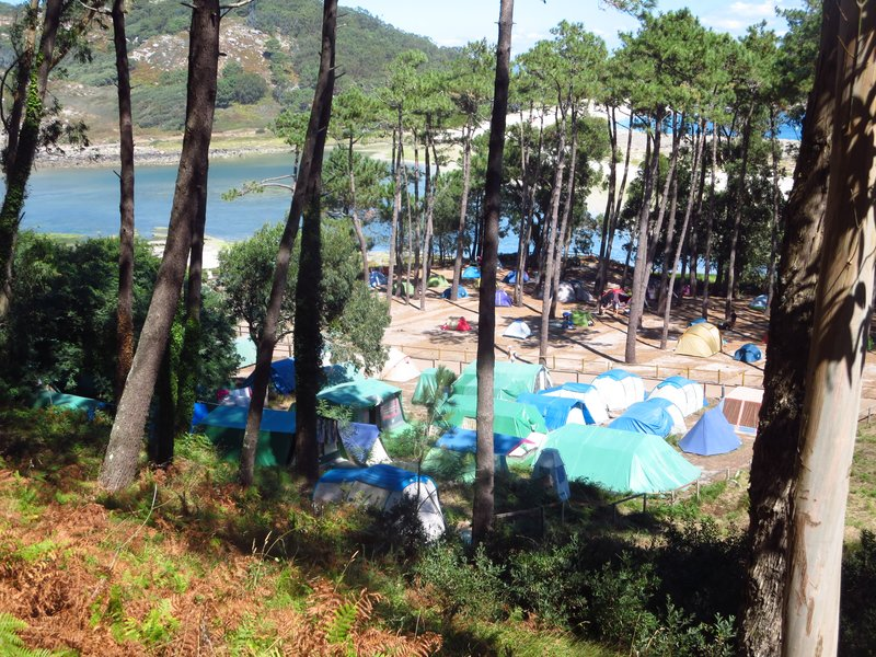 Camping in Cies