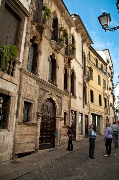 Vicenza. Palazzo Pigafetta