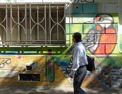 Santiago 2016 - Barrio Lastarria street art