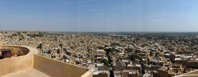 Jaisalmer city from the fort - Jaisalmer