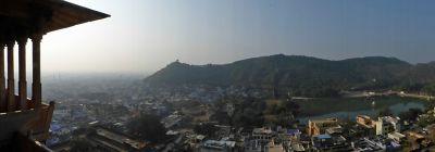 View of Bundi from the palace - Bundi