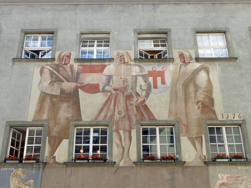 On a building in Feldkirch