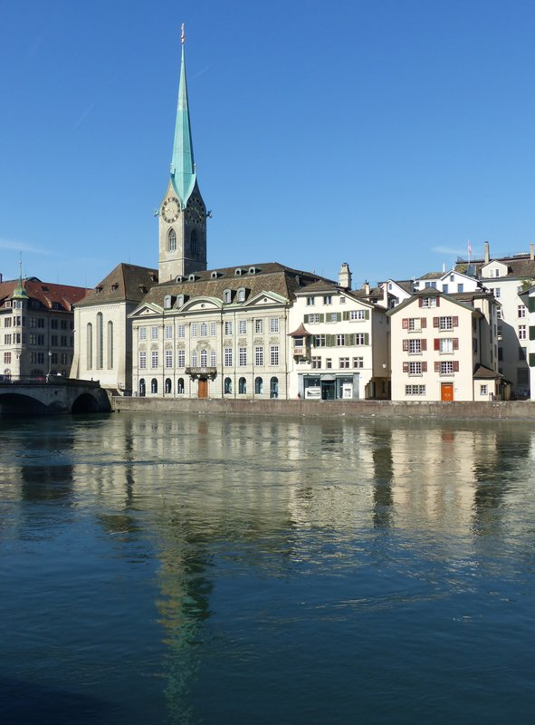 On the Limmatquai, Zurich