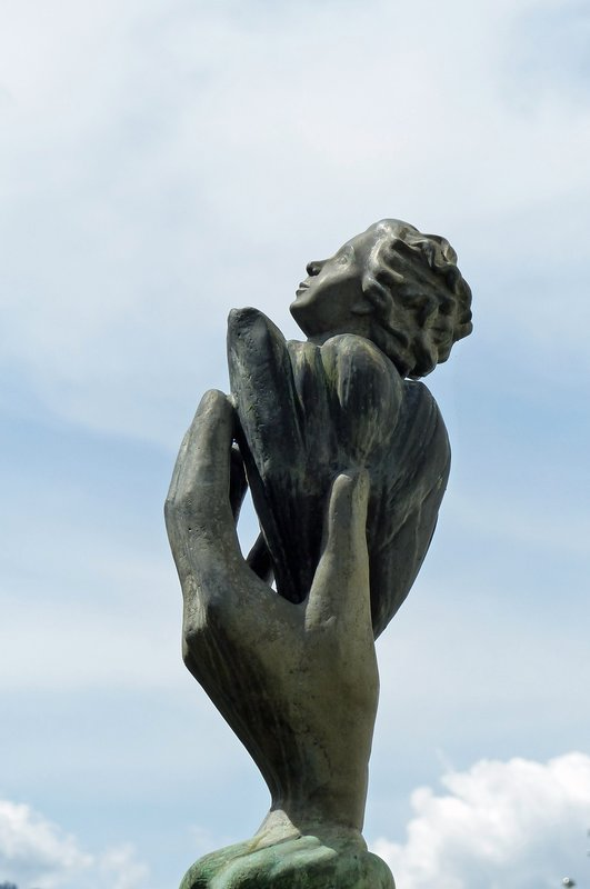 Sculpture in Vaduz