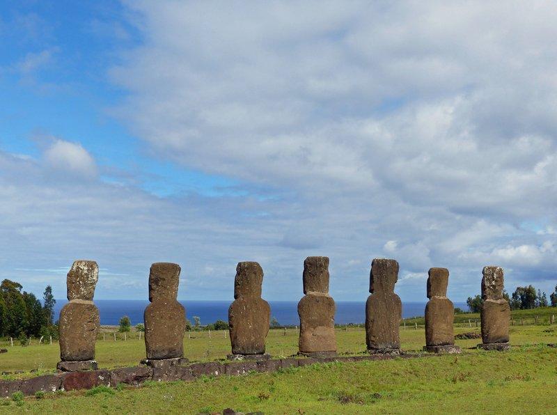 Ahu Akivi, Rapa Nui