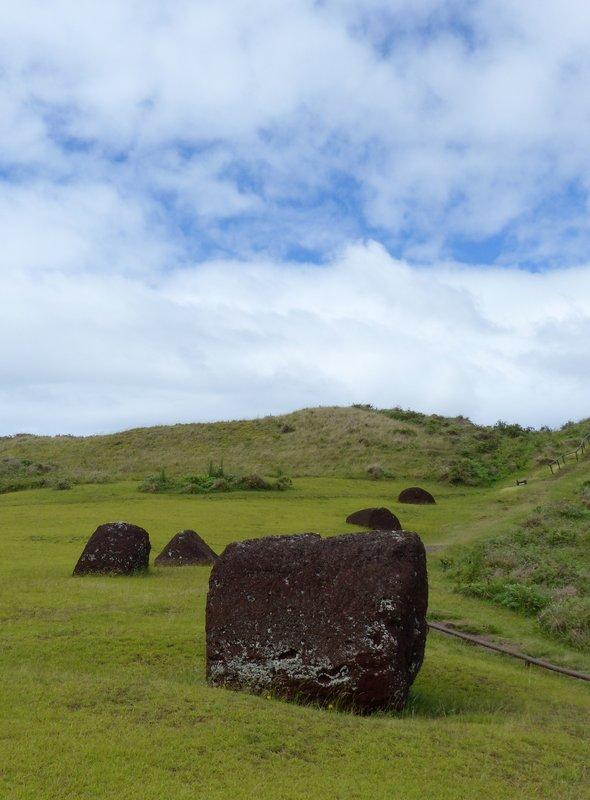 Pukao at Puna Pau, Rapa Nui