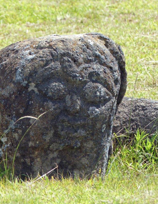 Birdman petroglyph at Orongo, Rapa Nui