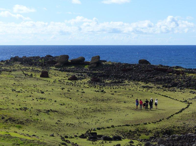 Ahu Akahanga, Rapa Nui