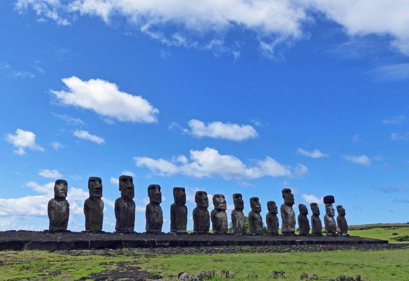 Ahu Tongariki, Rapa Nui
