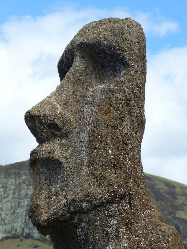 Travelling moai, Ahu Tongariki, Rapa Nui