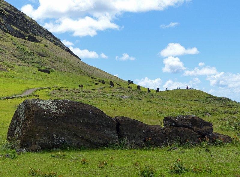 Moai, Rano Raraku, Rapa Nui