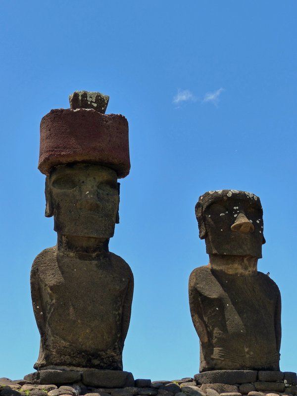 Ahu Nau Nau, Anakena Beach, Rapa Nui