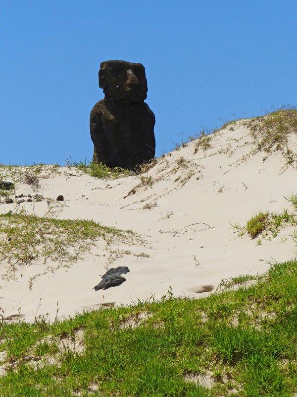 Ahu Ature Huki, Anakena Beach, Rapa Nui
