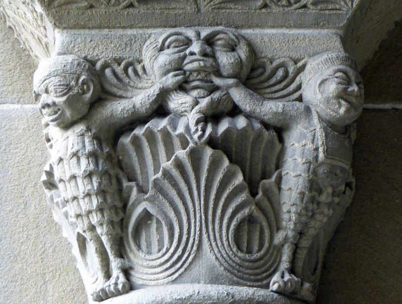 Carving detail, Fraumünster