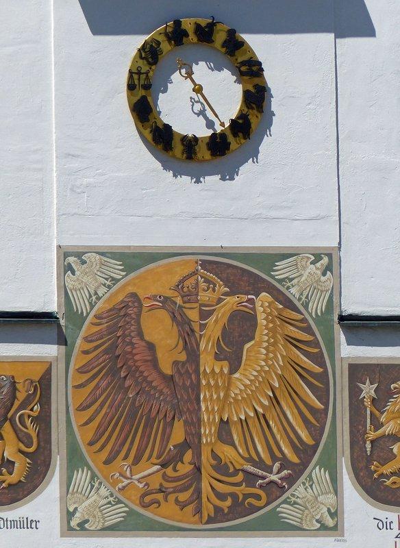Rathaus, Kempten - detail