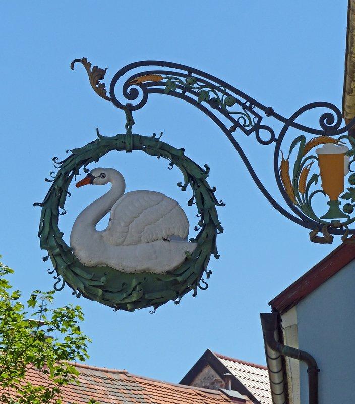 Old sign, Kempten