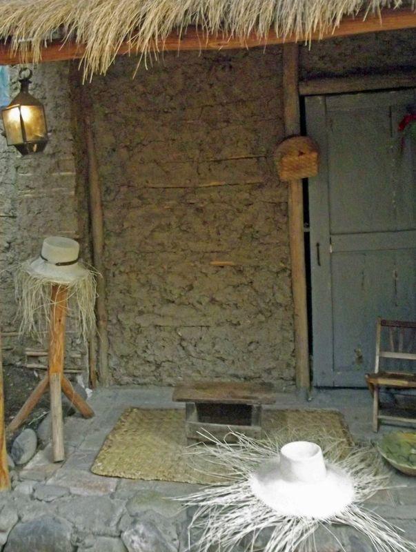 Mock-up of hat maker's village home - Cuenca