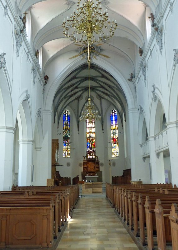 In St Mang's Church, Kempten