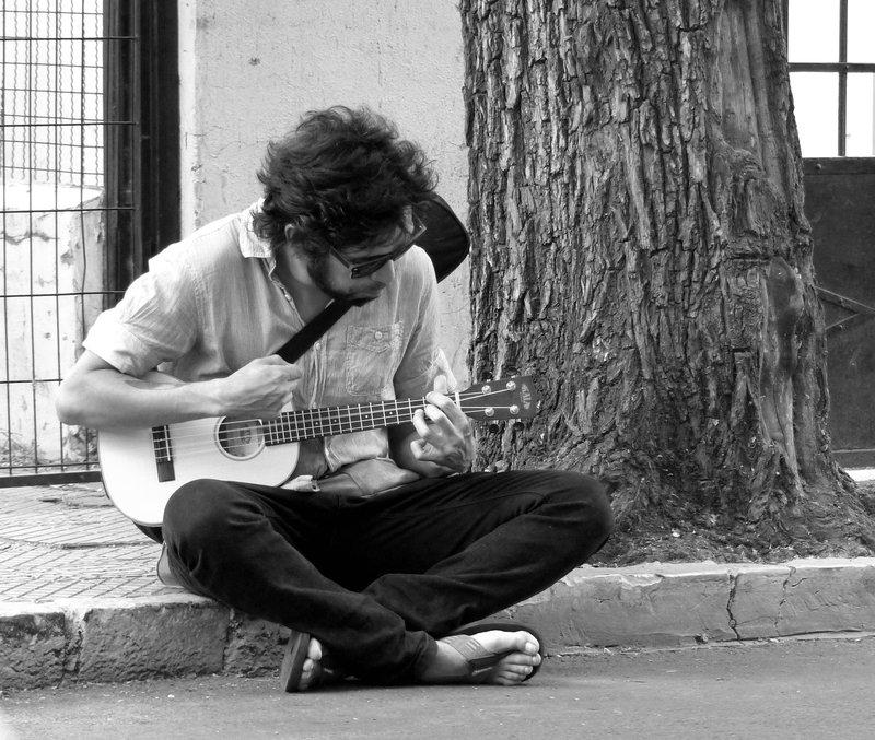Santiago 2016 - street musician