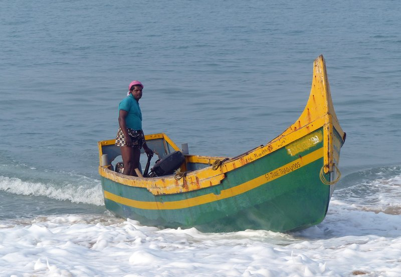 Fisherman, Chowara beach