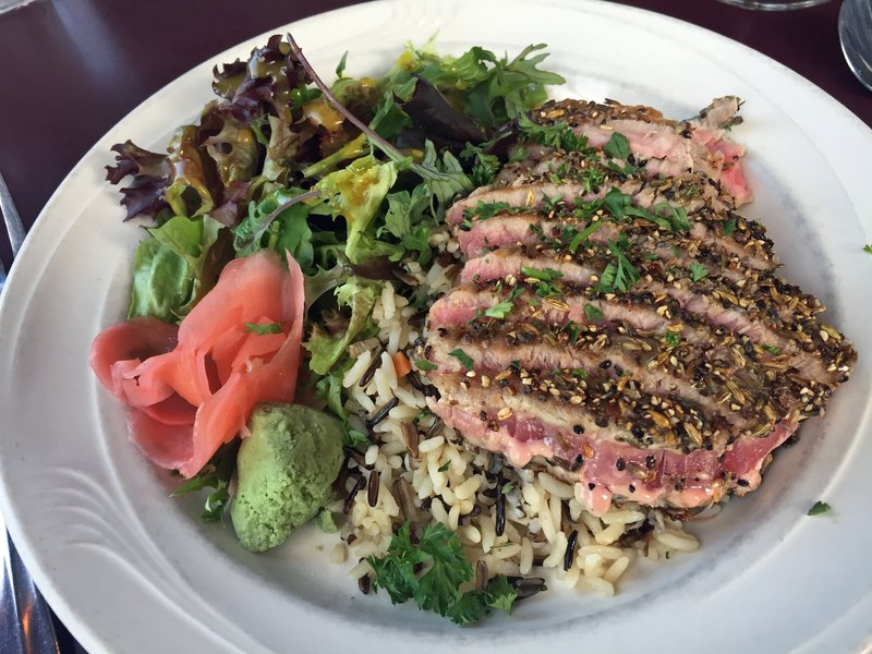Tuna at the Silverwater Cafe, Port Townsend
