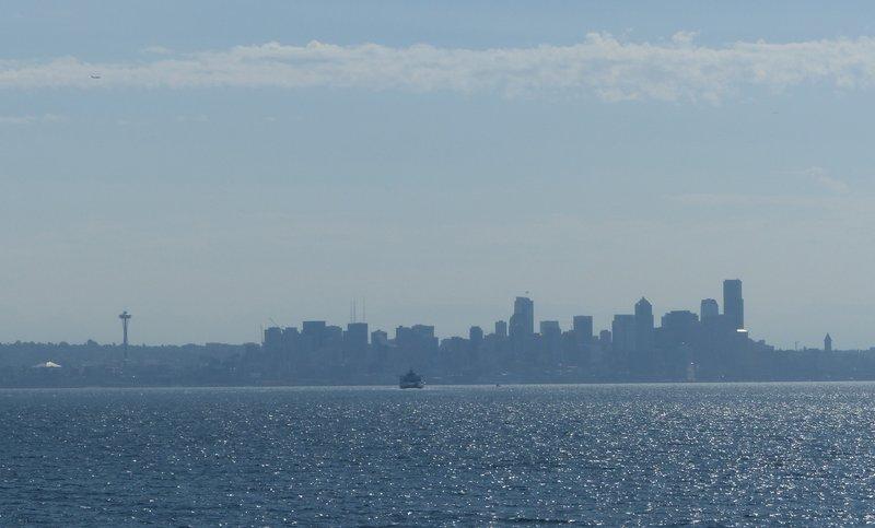 Seattle from the Bainbridge Island ferry