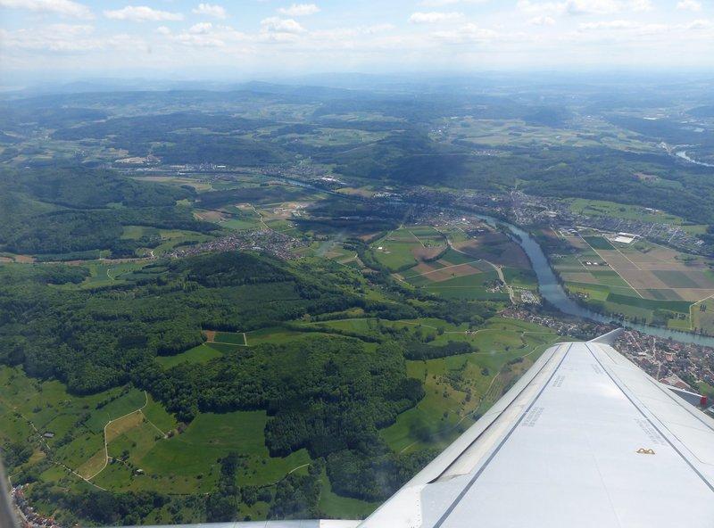 Landing at Zurich